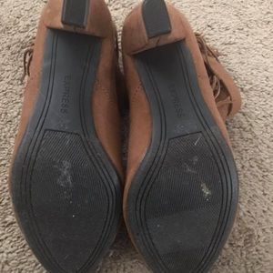 Express Shoes - Express never worn pull on booties 7